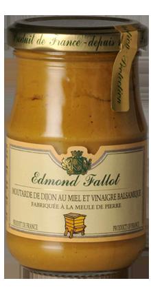 Dijon Senf mit Honig und Balsamico