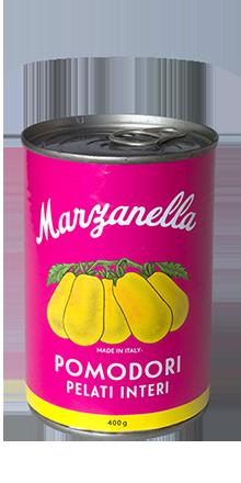 Geschälte gelbe Tomaten Marzanello