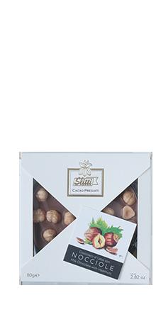 Tortina Milchschokolade mit Piemont Haselnüssen