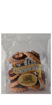 Biscotti Sartorelli Bitterschokolade und Walnuss