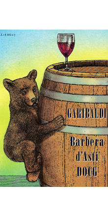 12 Flaschen Barbera d' Asti DOCG GARIBALDI 2016
