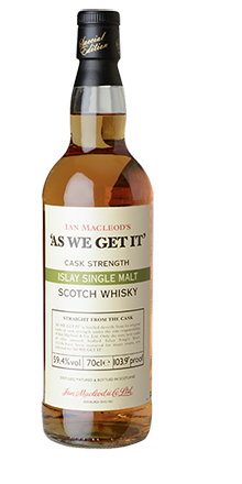 Ian Macleod´s AS WE GET IT Islay Single Malt Whisky