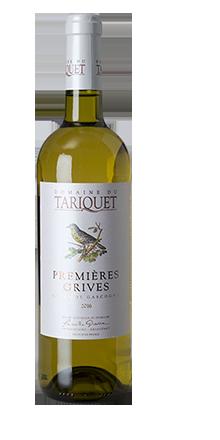 Côtes de Gascogne IGP Premières Grives 2016