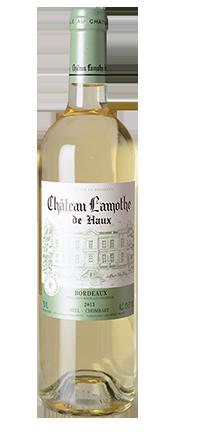 Château Lamothe Bordeaux blanc AC 2016