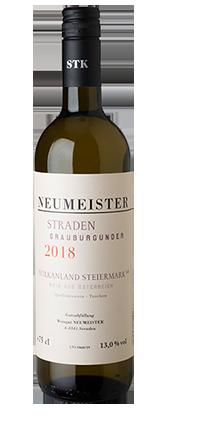 Grauburgunder Straden 2018