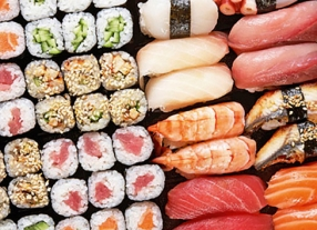Sushi & Champagner